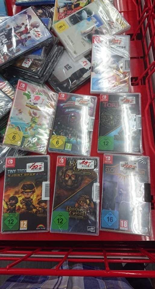 """[Lokal Media Markt Eschweiler] PS4, Switch, Xbox Spiele, """"Gute"""" CDs, DVDs, Blurays 1€"""