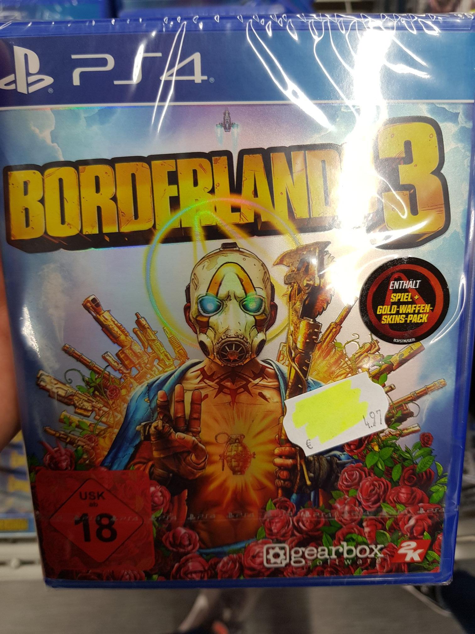 Borderlands 3 PS4 [Lokal] Leipzig Hauptbahnhof Saturn