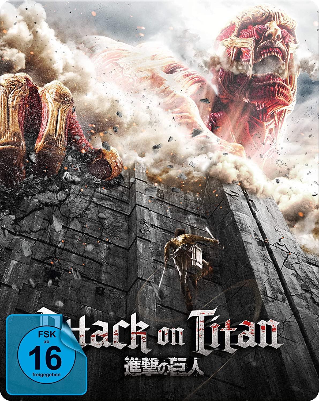Attack on Titan Film 1 Limited Steelbook Edition (Blu-ray) für 5,49€ (JPC)