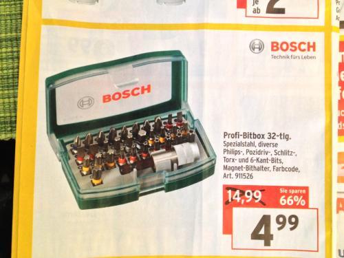 Profi Bitbox von Bosch 32 tlg. bei Max Bahr