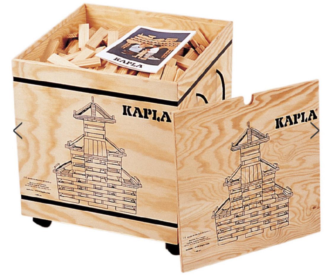 KAPLA Bausteine - Kasten 1000er Box (Babymarkt)