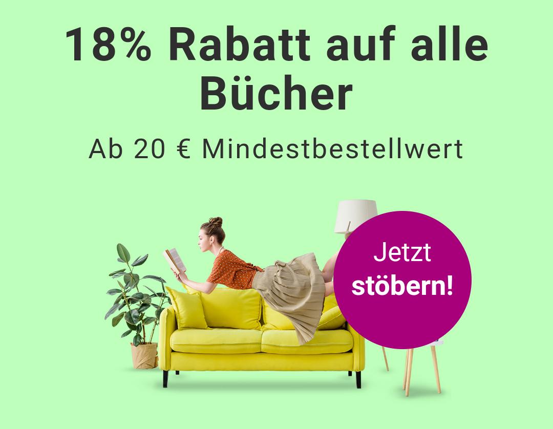 reBuy // 18% auf Bücher // 20€ MBW // 3,99€ Versand