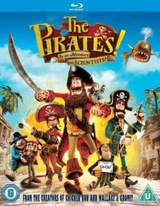 Pirates! In an Adventure With Scientists (O-Ton) [Blu-Ray] für 3,09€ @ Rarewaves