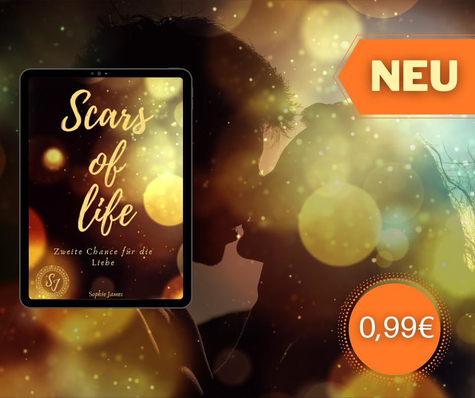 """Toller Debütroman als Ebook bei Thalia im Angebot """"Scars of life"""""""
