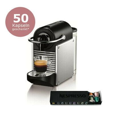 DE'LONGHI Pixie EN 125.S Nespresso Kapselmaschine + 14 Kapseln + Gutschein für 50 Kapseln (Neuware mit Verpackungsmängeln)