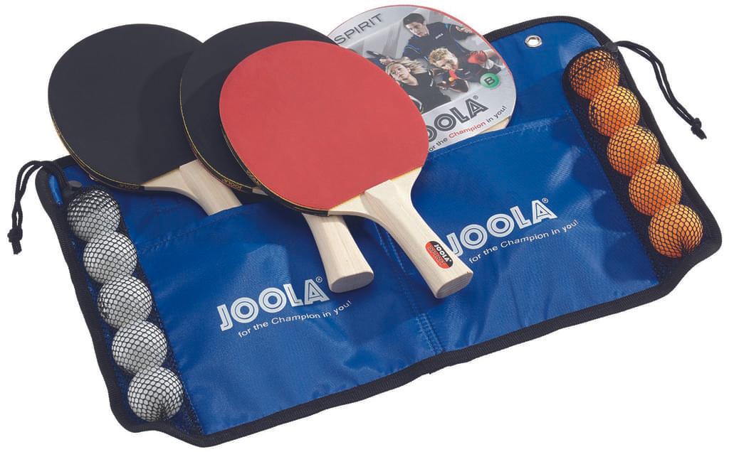 JOOLA Tischtennis-Set Family 4 Tischtennisschläger + 10 Tischtennisbälle + Tasche für 15,84€ (Amazon Prime)
