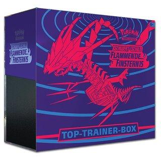 Pokemon Schwert & Schild 03: Flammende Finsternis Top-Trainer Box - Sammelkartenspiel TCG