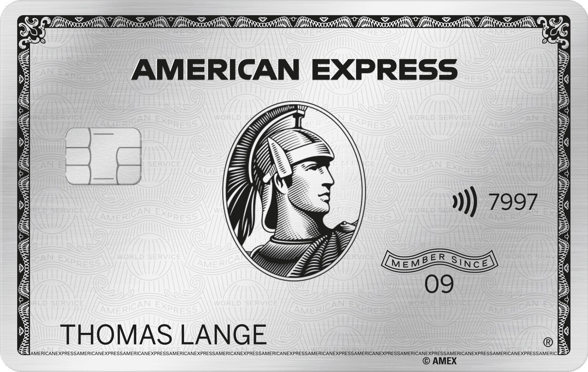 Amex Platinum 75.000MRP + 1 Jahr Wiwo Digital