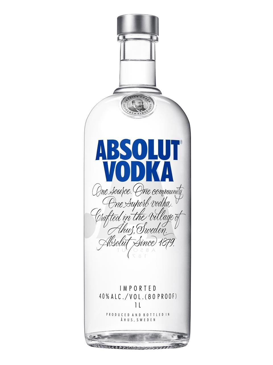 Absolut Vodka-1L-Versandkostenfrei-Frankfurt Duty Free