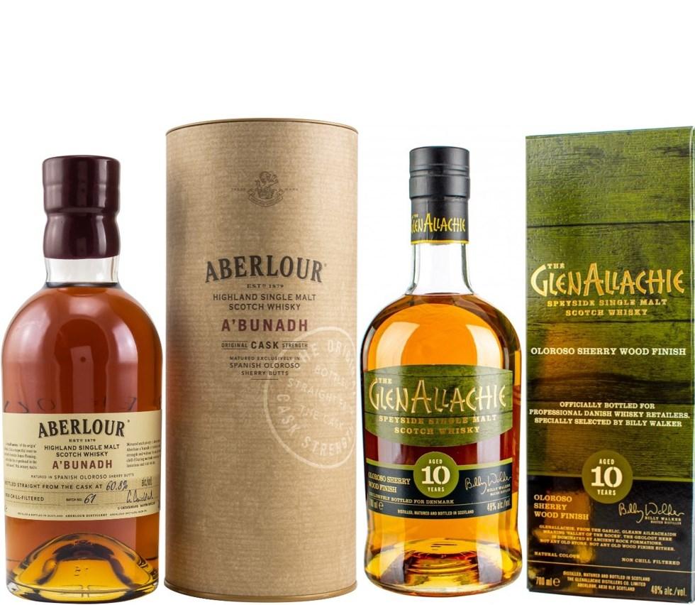 Whisky-Übersicht #46: z.B. Aberlour A'Bunadh Batch No. 61 für 48,45€, GlenAllachie 10 Jahre Oloroso Sherry Wood für 58,35€ inkl. Versand