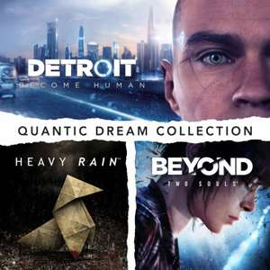[PS4] Pack Quantic Dream Collection: Detroit: Become Human + Heavy Rain + Beyond: Two Souls (Store US)