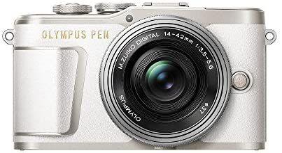 Olympus PEN E-PL9 Kit, Micro Four Thirds Systemkamera (16,1 Megapixel, Bildstabilisator, elektronischer Sucher, 4K-Video) + M.Zuiko 14-42mm