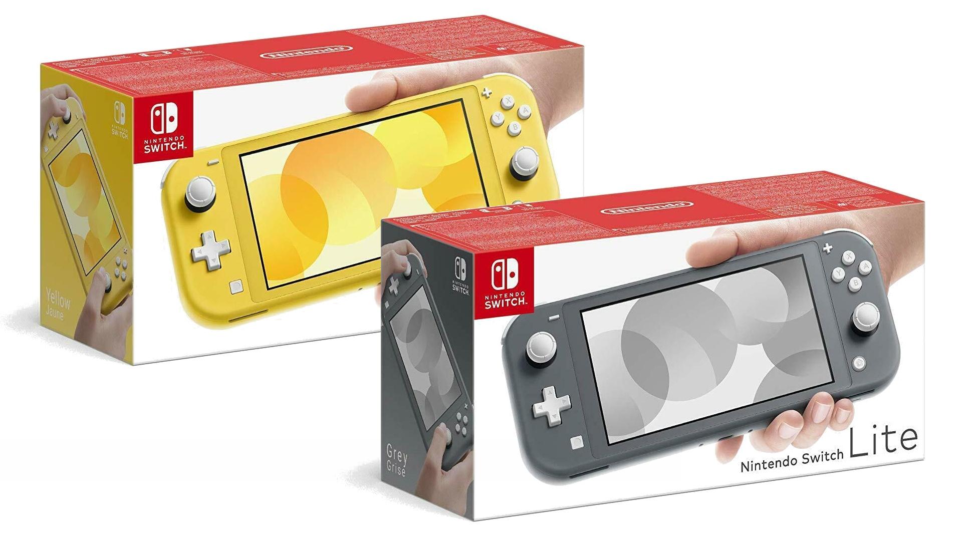 Nintendo Switch Lite Konsole mit Gutschein zum aktuell günstigsten Preis auf Ebay