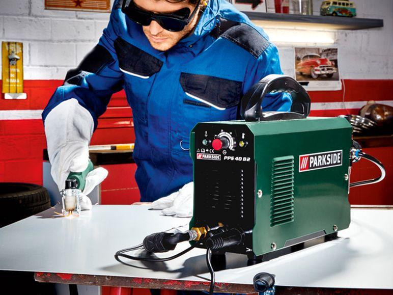 PARKSIDE Plasmaschneider PPS 40, mit Schnellanschluss-System für nur 70 Euro [Lidl in Teltow]