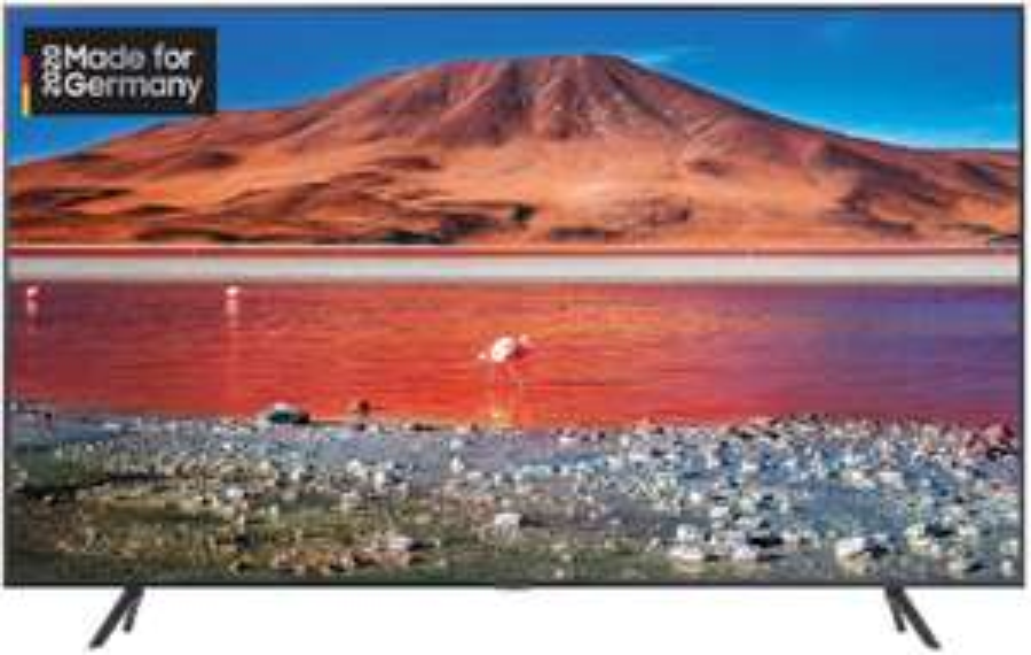 Samsung TU7199 108 cm (43 Zoll) LED Fernseher (Ultra HD, HDR 10+, Triple Tuner, Smart TV) [Modelljahr 2020] [Amazon]