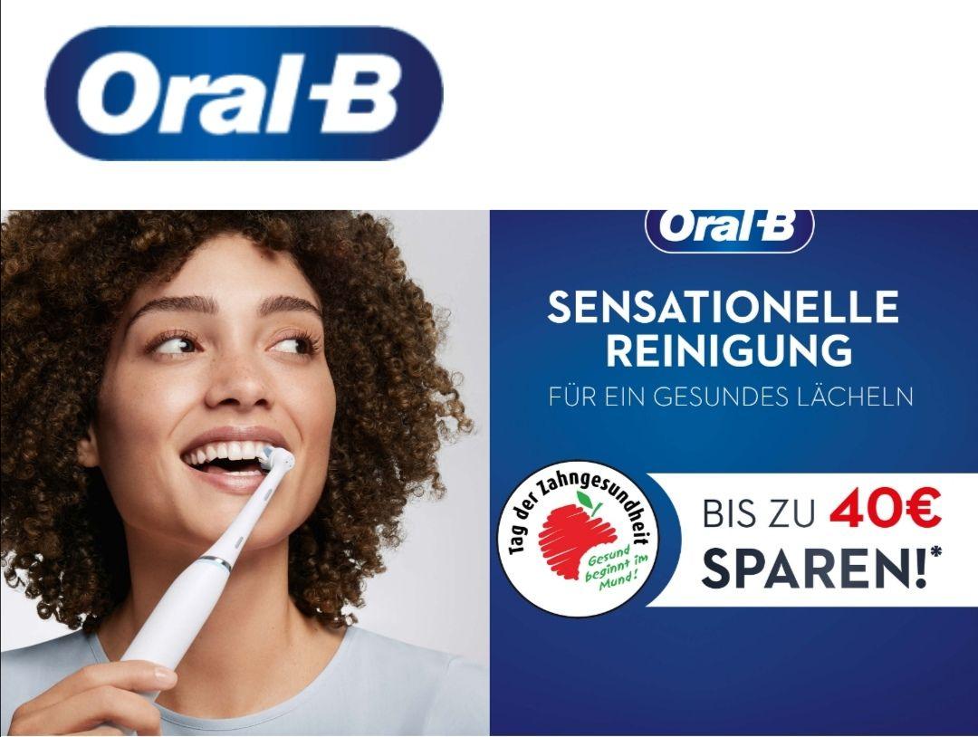 Oral-B Cashback Aktion mit bis zu 40 EUR Erstattung (bis 30.09.2020)