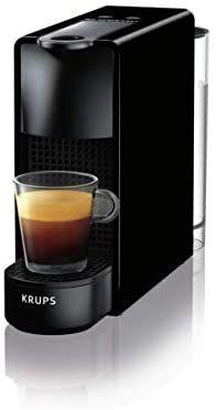 Krups Sammeldeal z.B Nespresso XN1108 Essenza Mini Kaffeekapselmaschine, 1260 Watt, schwarz, 0,6 Liter [Amazon]