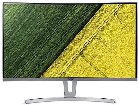 Acer ED (ED273wmidx) 69 cm (27 Zoll) VA Curved ZeroFrame Monitor Matt (HDMI, DP, VGA, FHD 1920x1080, 4ms GTG, 75Hz,FreeSync) [Amazon]