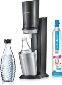Sodastream Crystal 2.0 mit 2 Glaskaraffen