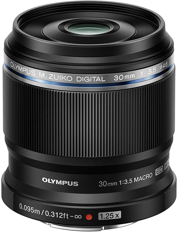 Olympus M. Zuiko Digital ED 30mm F3.5 Macro-Objektiv,