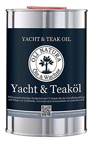 [Amazon Prime] OLI-NATURA Yacht- und Teaköl Natur - Holzöl