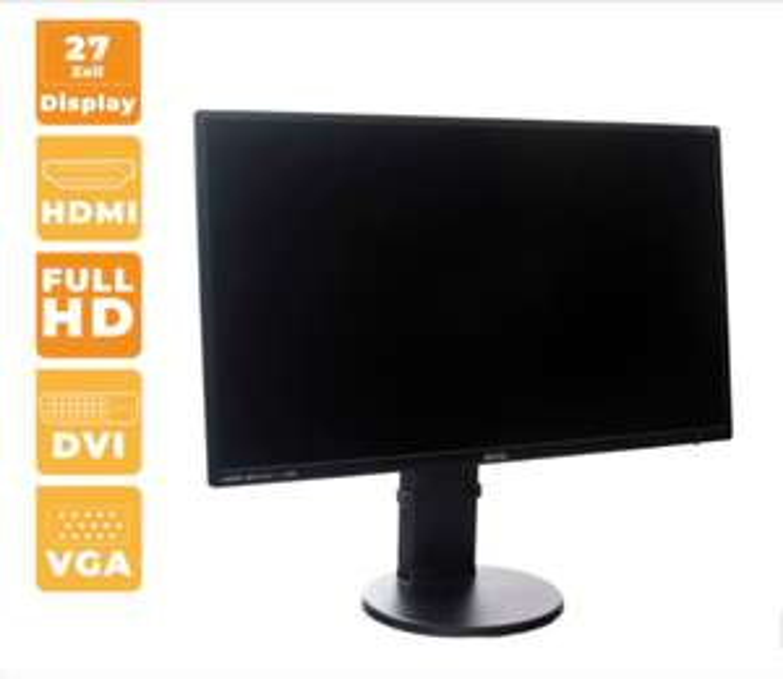 "BenQ BL2700HT 27"" AMVA+ Monitor ( Grade A-, Full-HD, 4ms, DVI, VGA, HDMI, 3,5 Klinke (IN/Out) )"
