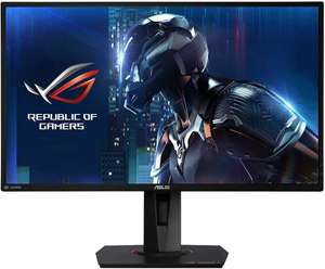 "ASUS ROG Swift PG279QE - 27"" WQHD Gaming Monitor (165 Hz, IPS, 2560x1440, Nvidia G-Sync, 4ms, HDMI, DisplayPort, Pivot)"