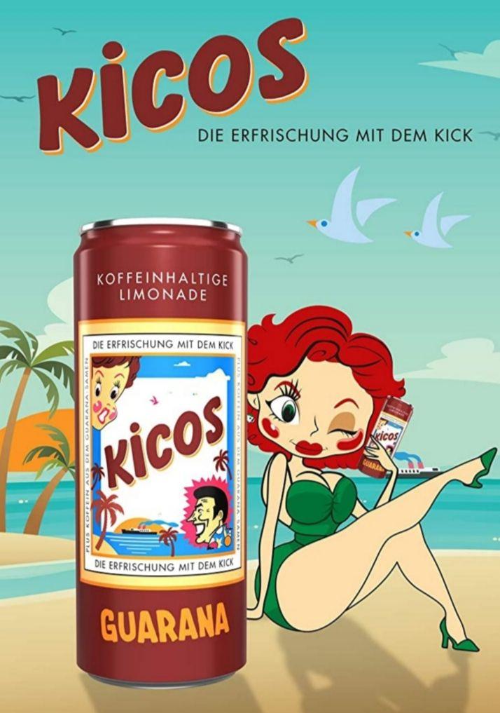 Kicos Guarana Limonade 24x0,33