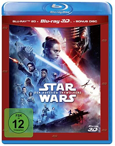 Star Wars: Der Aufstieg Skywalkers 3D (Blu-ray 3D + Blu-ray + Bonus Blu-ray) für 18,87€ (Amazon Prime & Saturn & Media Markt Abholung)