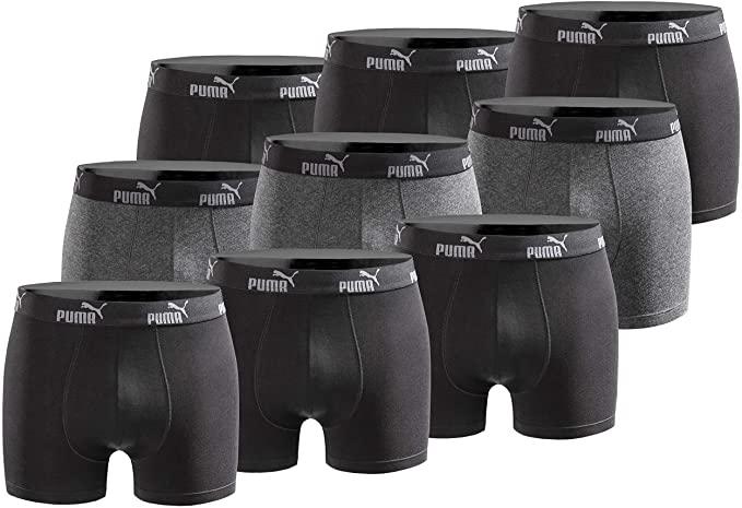 Puma Boxershorts im Angebot: 6er Pack für 27,95€ (ca. 4,66€ / Stück) oder 9er Pack für 39,99€ (ca. 4,44€ / Stück)