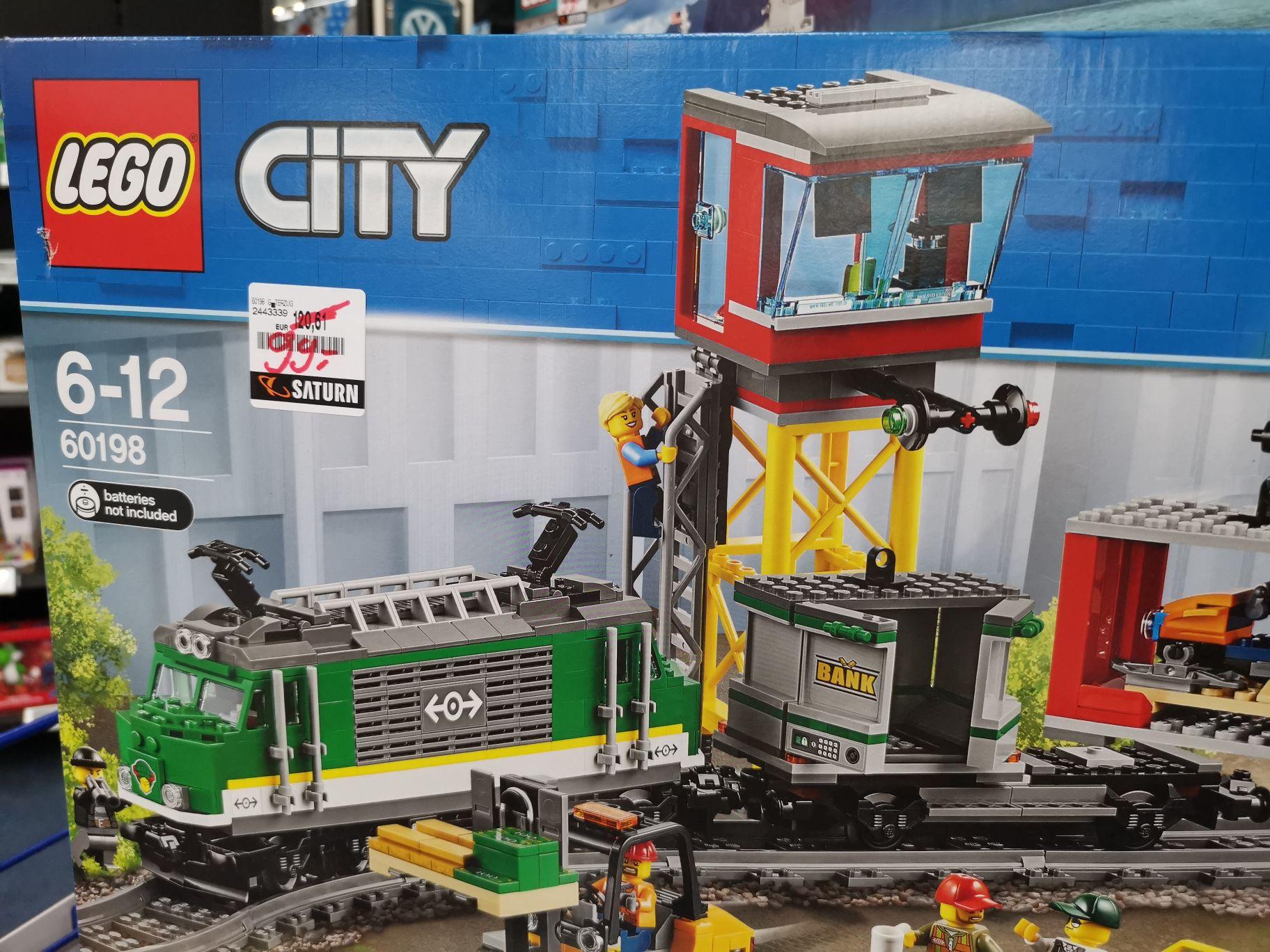 Lokal Kiel | Saturn: LEGO 60198 Güterzug