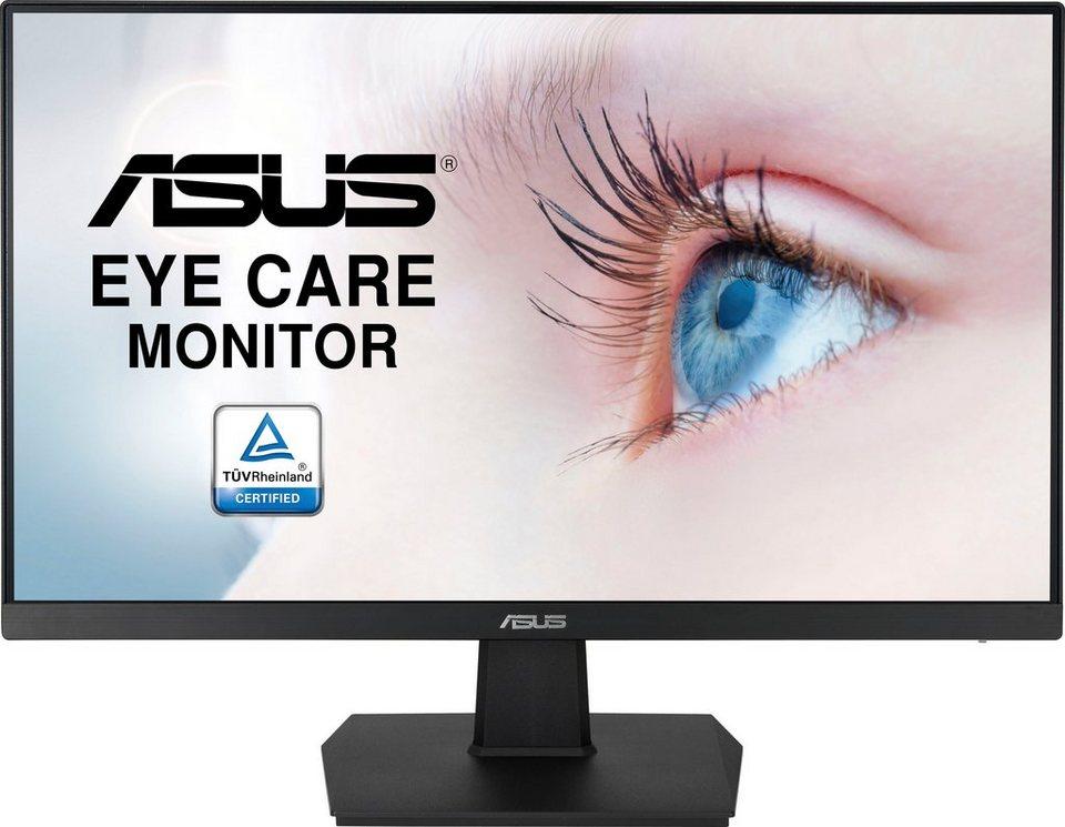 Asus VA24EHE LED-Monitor (23,8 Zoll, Full HD, IPS, 75 Hz, 5 ms, HDMI, VGA, DVI, FreeSync, VESA) lieferbar in 3 Wochen