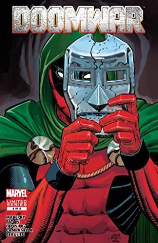 Doomwar 1-6 Comics kostenlos (Comixology & Amazon)