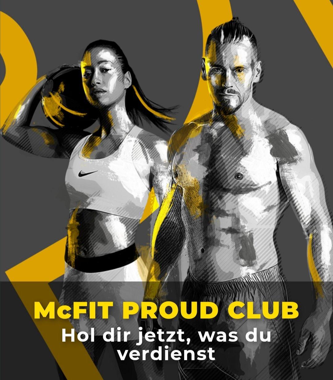 McFit Proud Club mit Angeboten für langjährige Mitglieder