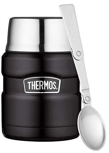 THERMOS Stainless King Speisegefäß, Edelstahl, Mat Black, 0,47 Liter für 17,79€ (Amazon Prime)