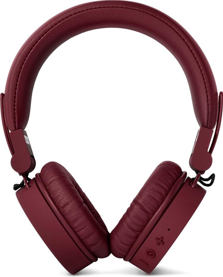 Fresh n Rebel Caps Bluetooth On-Ear-Kopfhörer dunkelrot (auch mit Kabel verwendbar)