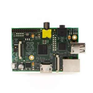 Raspberry Pi Model B 512 MB (Rev. 2.0) für 34,95€