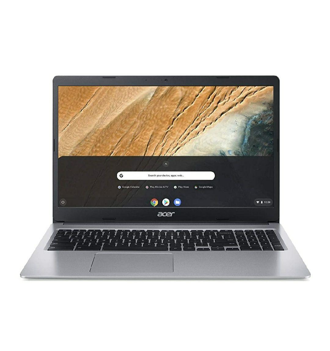 Acer Chromebook 315 (15,6 Zoll Full-HD IPS matt, 20mm flach, MicroSD Slot, Google Chrome OS) Silber