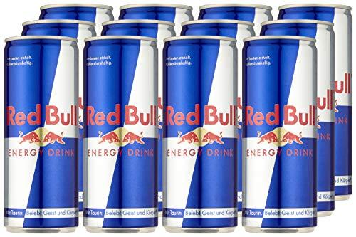 Red Bull Energy Drink 12er Palette (12 x 250 ml) (3,61 € / l) Pfand mit einberechnet