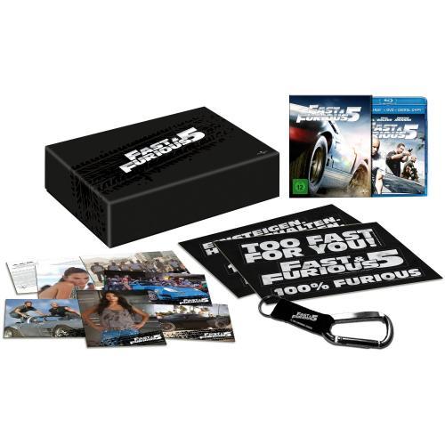 Fast and Furious 5 Fan Editon Berlin Alexa MM Blu Ray