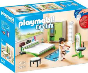 Playmobil City Life - Schlafzimmer (9271) für 11,15€ (Amazon Prime & Real Abholung)