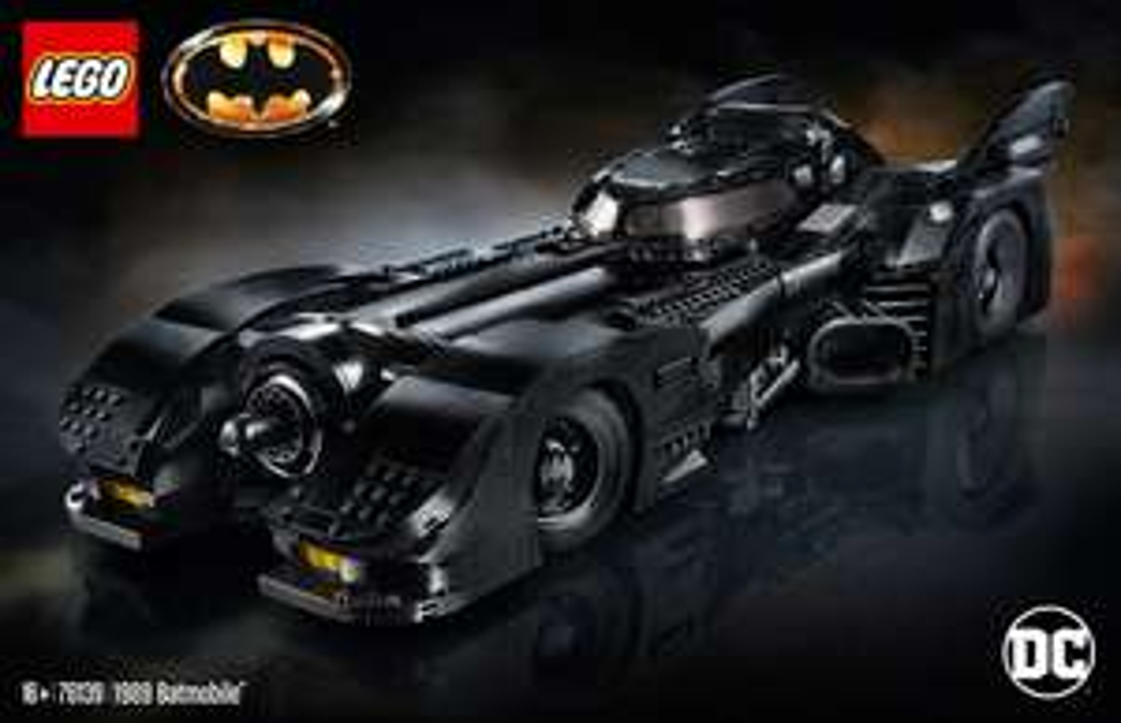 LEGO DC Super Heroes - 1989 Batmobile 76139