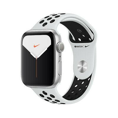 Apple Watch Series 5 Nike+ GPS & LTE 44mm Silber Platinum/Schwarz für 514,40€ (GPS für 420,21€) (eBay)