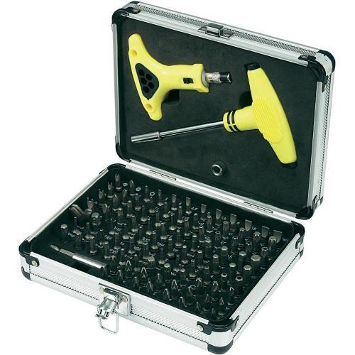 Basetech Spezial-Sicherheits-Bit-Set 105tlg für 14,95€ @Ebay