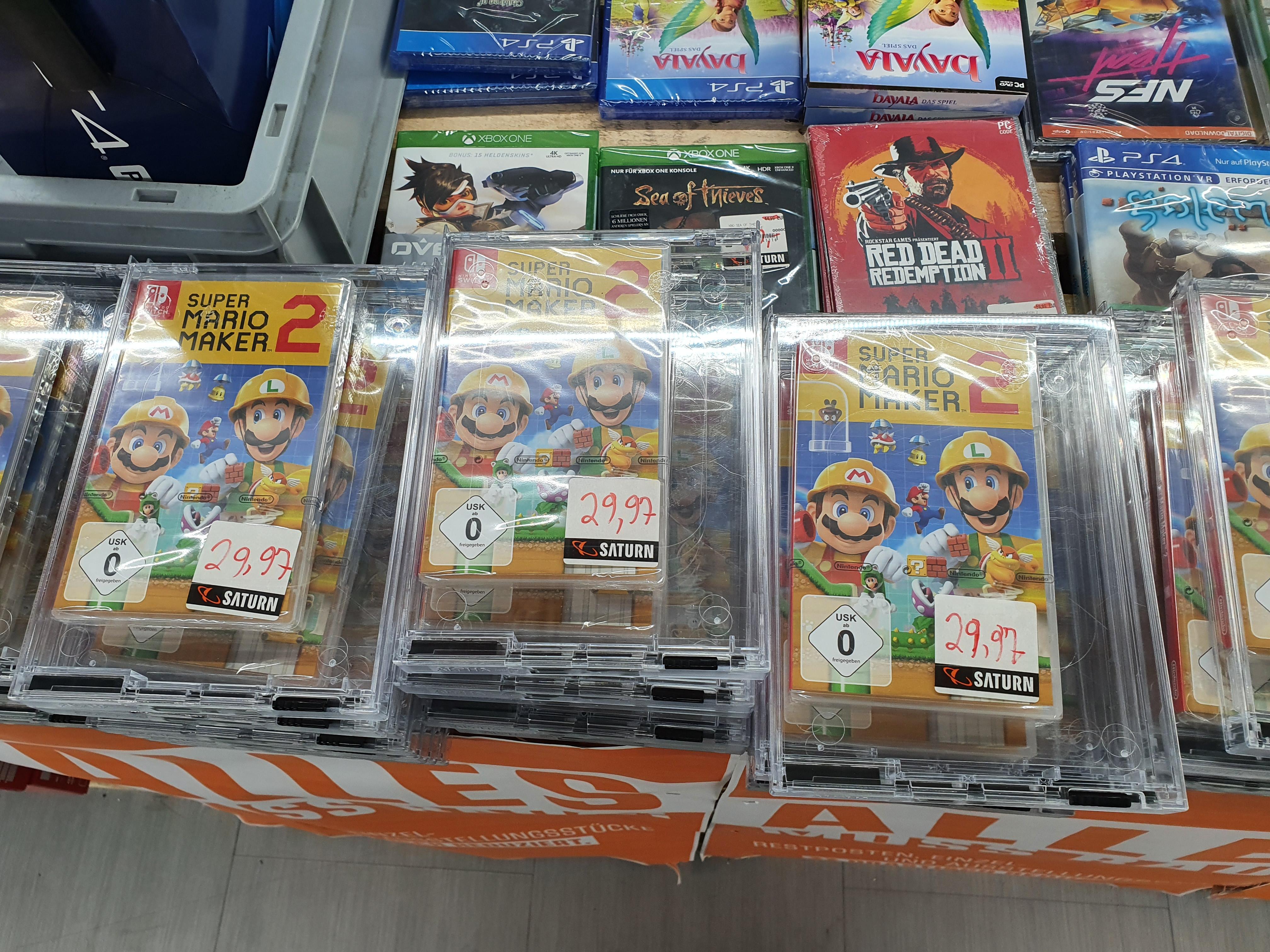 (Regional Saturn Bielefeld) Super Mario Maker 2 Nintendo Switch für 29.97€