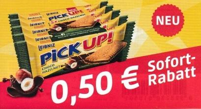 0,50€ Sofort-Rabatt für ein 5er Pack Pick Up! - gültig bis 24.10.2020