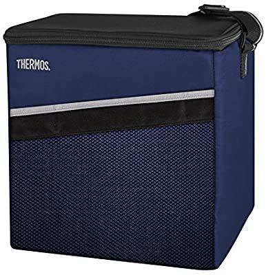 THERMOS Kühltasche Classic medium 15 Liter - Isolierte Einkaufstasche aus Polyester, blau 24 x 27,5 x 28[Amazon Prime]