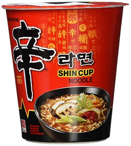 Nong Shim Instantsnack Shin Ramyun CUPs 6er/12er/16er Pack (Verschiedene Größen)