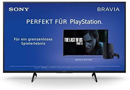 Sony KD-43XH8096 Bravia 108 cm (43 Zoll) Fernseher (Android TV, LED, 4K Ultra HD (UHD), High Dynamic Range (HDR) [Amazon]