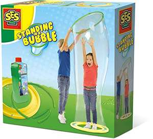 SES Creative Seifenblasenspielzeug Seifenblasen Tunnel inkl. Seifenlösung (750ml) für 9,74€ (Amazon Prime)